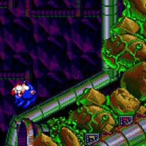 Sonic Spinball Welt