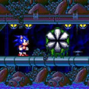 Sonic Spinball Giftig Caves