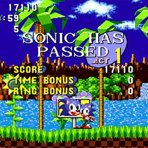 Sonic The Hedgehog - Ziellinie