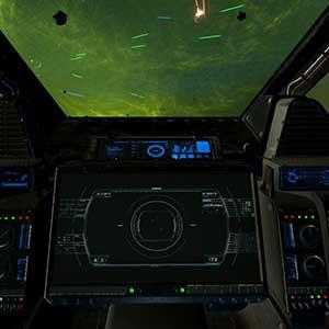 Raumschiff-Steuerungen