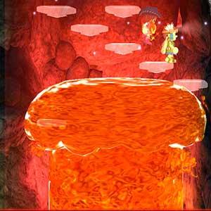 Überwinden gefährliche Höhlen