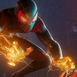 Marvels Spider-Man Miles Morales Electrokinesis