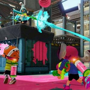 Splatoon Nintendo Wii U Schnittstelle
