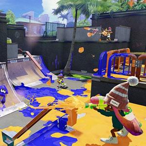 Splatoon Nintendo Wii U Kampf