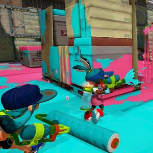 Splatoon Nintendo Wii U Schlacht