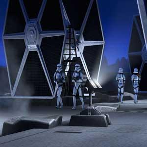 Star Wars Tie Fighter Solarplatten