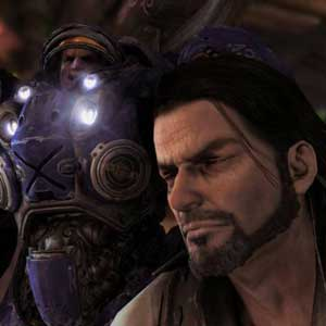 StarCraft 2: Wings of Liberty Jim Raynor and Tychus Findlay