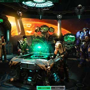 StarCraft 2: Wings of Liberty Brücke der Hyperion
