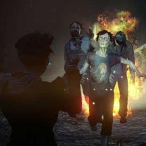 Eine Gruppe von Zombies