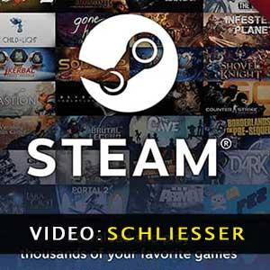 Steam Gutschein Video Trailer