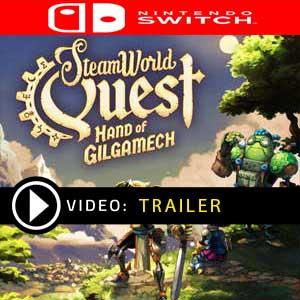 SteamWorld Quest Hand of Gilgamech Nintendo Switch Digital Download und Box Edition