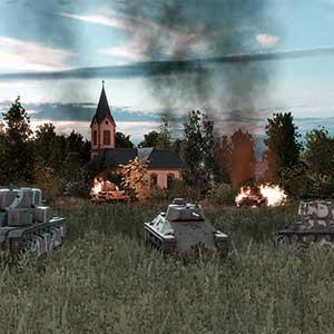 getarnte Einheit auf das Schlachtfeld