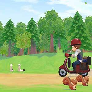 STORY OF SEASONS Pioneers of Olive Town Motorroller