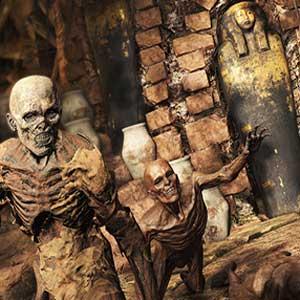 Stöhnen Mumien