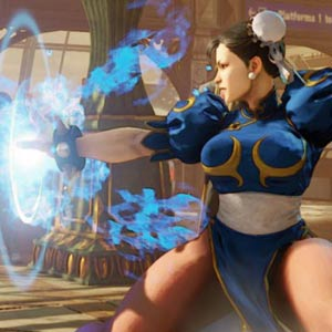 Street Fighter 5 PS4 Gefecht