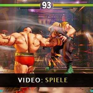 Street Fighter 5 Gameplay-Video