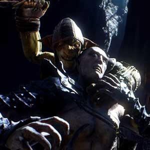 Goblin Kampf mit Feind