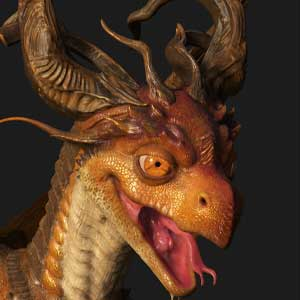 Substance Painter 2021 Drache