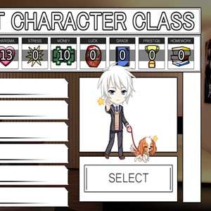 Academy Charakter Seletion
