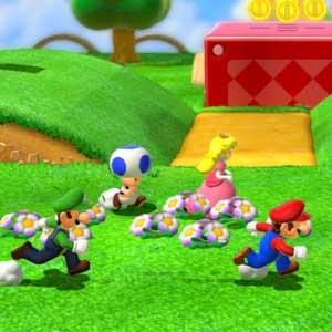 Super Mario 3D Land Nintendo 3DS Laufen