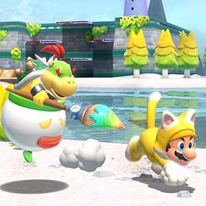Super Mario 3D World + Bowser s Fury Nintendo Switch - Bowser und Mario