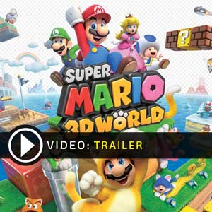 Super Mario 3D World Nintendo Wii U Digital Download und Box Edition