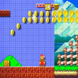 Super Mario Maker Nintendo Wii U Mit Blick auf Feinde