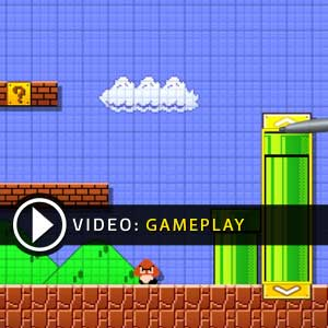 Super Mario Maker Nintendo Wii U Gameplay Video