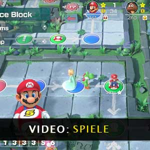 Super Mario Party Nintendo Switch Gameplay-Video