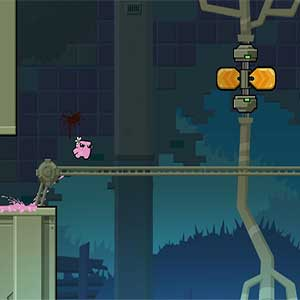 avoid deadly obstacles to find Nugget