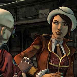 Tales from the Borderlands Screenshot: Wähle ein