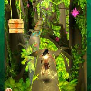 Tarzan sammeln Power-Ups