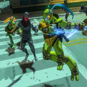 Teenage Mutant Ninja Turtles Mutants in Manhattan PS4 Kampf