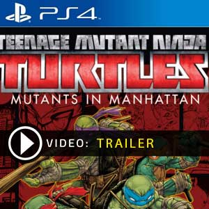Teenage Mutant Ninja Turtles Mutants in Manhattan PS4 Digital Download und Box Edition