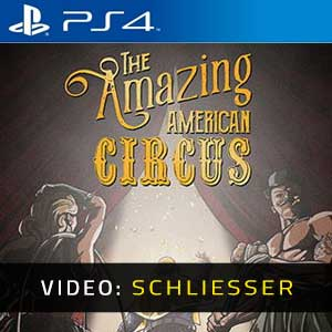 The Amazing American Circus PS4 Video Trailer