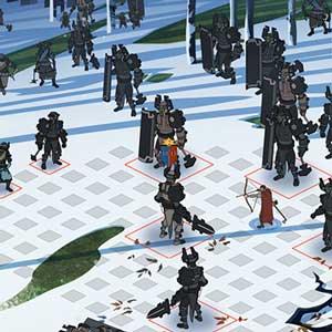 The Banner Saga 2 Schlacht von schneebedeckten Gipfeln