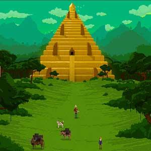 Geben Sie die Pyramide