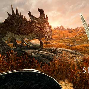 The Elder Scrolls 5 Skyrim VR - Drache