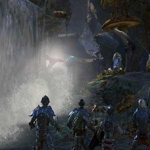 The Elder Scrolls Online Morrowind Wasserfall