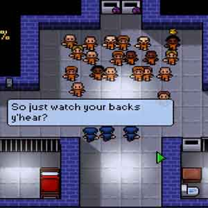 The Escapists Screenshot: Morning Roll-Call Day 1