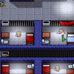The Escapists Screenshot: Digging Inside Prison Cells