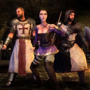 The First Templar - Charaktere