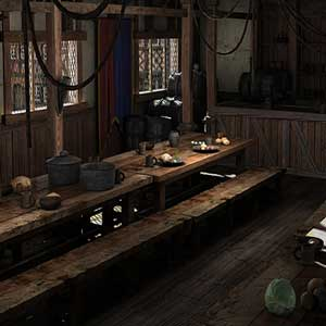 The Guild 3 Speisesaal