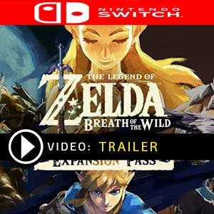 The Legend of Zelda Breath of the Wild Expansion Pass Nintendo Switch Digital Download und Box Edition