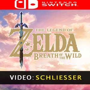 The Legend of Zelda Breath of the Wild Nintendo Switch - Video-Anhänger