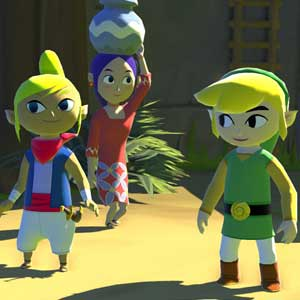 The The Legend of Zelda The Wind Waker HD Wii U Charaktere