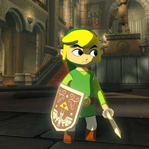 The The Legend of Zelda The Wind Waker HD Wii U Link