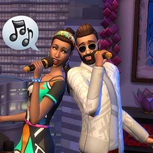 The Sims Karaoke bar