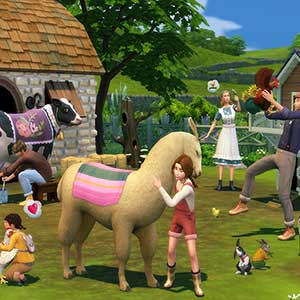 The Sims 4 Cottage Living - Stier