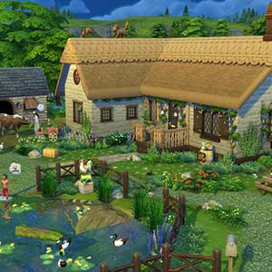 The Sims 4 Cottage Living - Haus